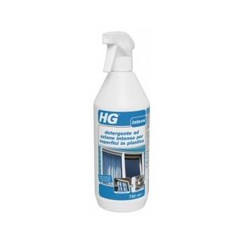 HG detergente ad azione intensa per superfici in plastica 750 ml