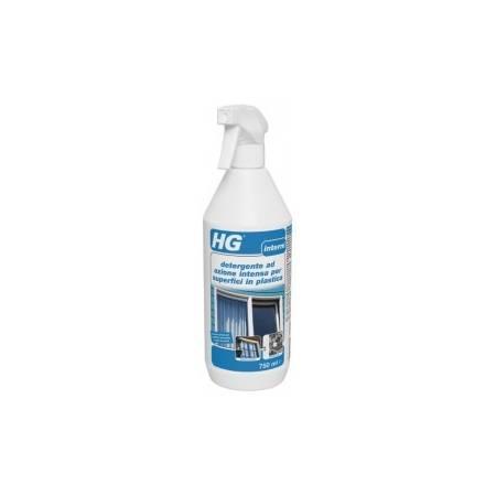 HG detergente ad azione intensa per superfici in plastica 750 ml