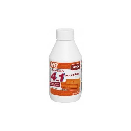 HG 4 in 1 cleaner for leather 250 ml
