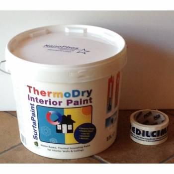 SurfaPaint ThermoDry Interni 10LT Nanosilv