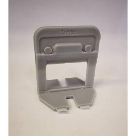 """Bases 1 mm para sistema de crucetas autonivelantes """"NEW"""" Block Level"""