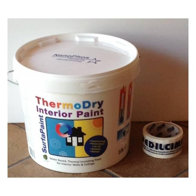 surfapaint thermodry interni 3lt nanosilv. Black Bedroom Furniture Sets. Home Design Ideas