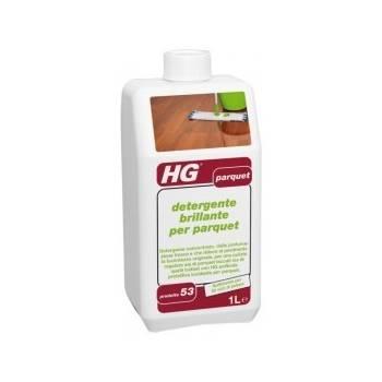 HG detergente brillante per parquet 1lt