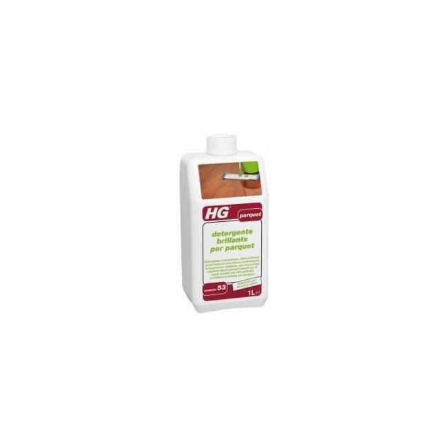 HG detergente brillante per parquet