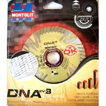 "DISCO DIAMANTATO ""DNA"" EVO3 115 MM MONTOLIT TXH115"