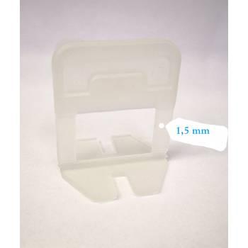 """Laschen 1,5 mm Verlegehilfe für Fliesen """"NEW"""" Block Level"""