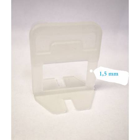 Bases 1,5 mm para sistema de crucetas autonivelantes Block Level Evo