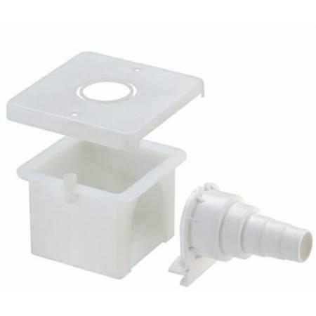 Caja empotrada para codos bridados - F.I.V.