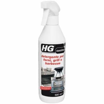 HG detergente per forni, grill e barbecue 500 ml