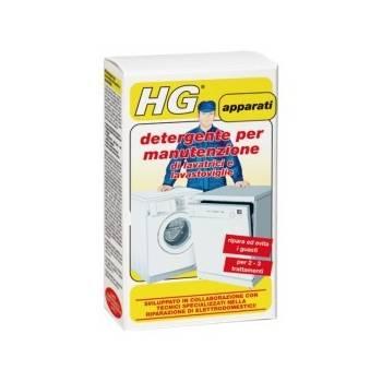 HG detergente per manutenzione di lavatrici e lavastoviglie 2x100gr