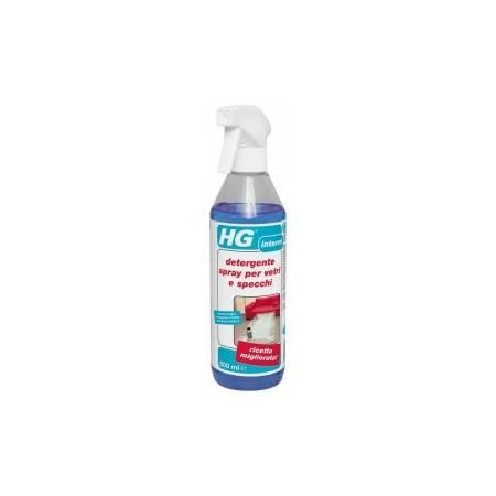 HG detergente spray per vetri e specchi 500 ml