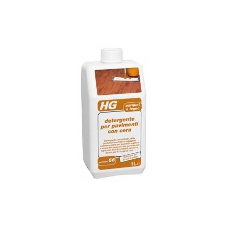 HG detergente per pavimenti con cera 1lt