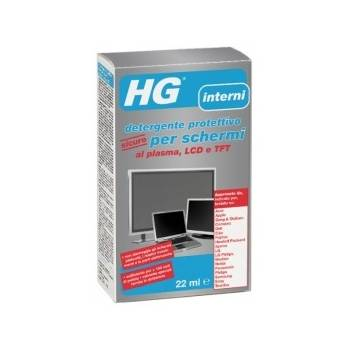 HG protective detergent safe for plasma screens, LCD and TFT 22ml + 10 wipes
