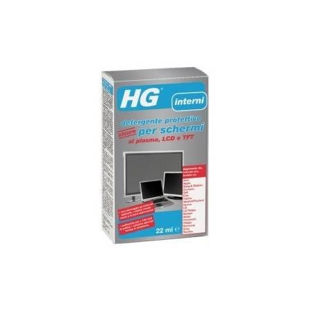 HG detergente protettivo sicuro per schermi al plasma, LCD e TFT 22ml + 10 salviette