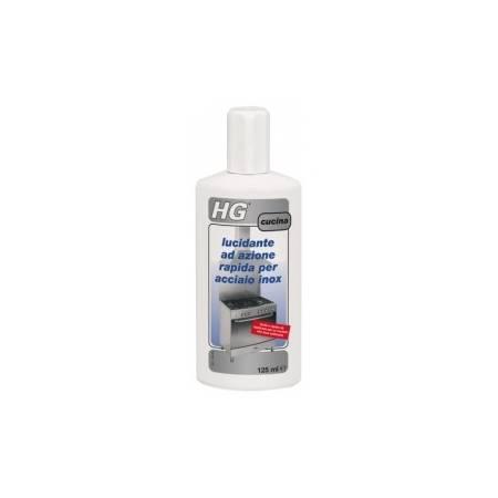 HG lucidante ad azione rapida per acciaio inox 125 ml
