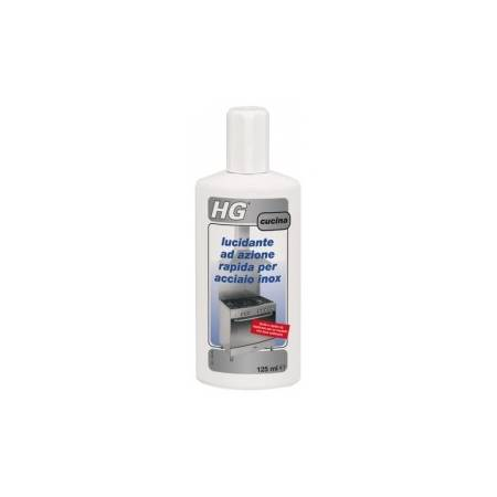 HG fast-acting polishing for stainless steel, 125 ml
