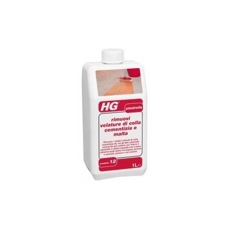 HG rimuovi velature di colla cementizia e malta 1 lt