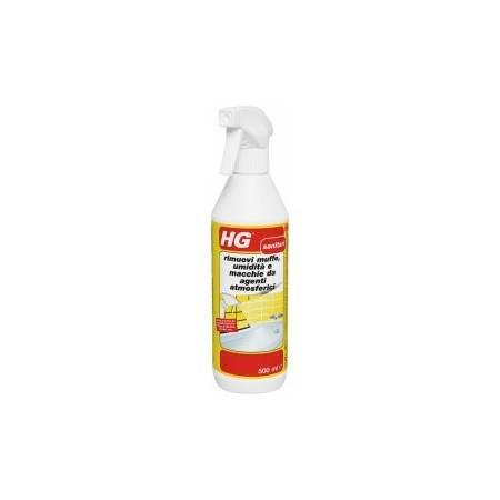 HG rimuovi muffe, umidità e macchie da agenti atmosferici 500 ml
