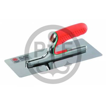 Stainless steel trowel Pavan for finishing and polishing lime putty and Marmorino