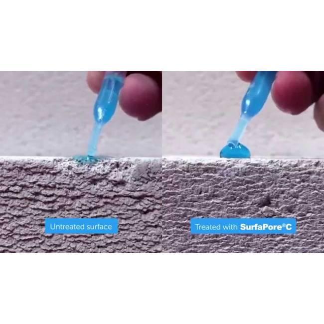 c surfapore imperm abilisant pour ciment bases nanosilv. Black Bedroom Furniture Sets. Home Design Ideas