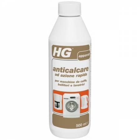 HG anticalcare ad azione rapida per macchine da caffè, bollitori e lavatrici 500ml