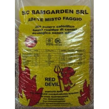 Pellet Red Devil Bamgarden abete misto faggio