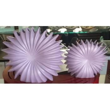 Vaso porcellana viola