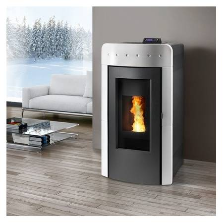pellet stove montegrappa atollo aq 21. Black Bedroom Furniture Sets. Home Design Ideas