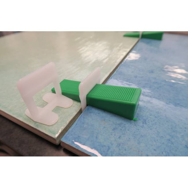 Basi 1 mm distanziatori autolivellanti block level evo - Distanziatori per piastrelle autolivellanti ...
