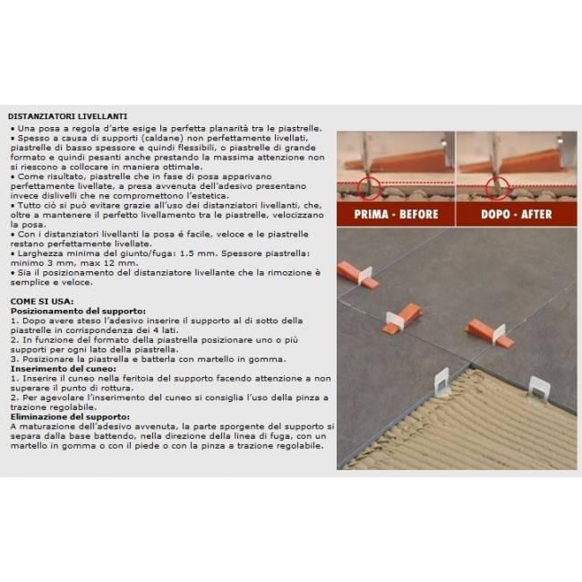 Tile Leveling Systems u0026gt; Raimondi Tile Leveling System CLIPS + WEDGES