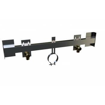 Traversa di supporto soffione doccia regolabile Knauf MT 200