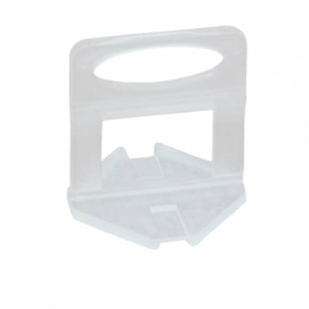 Spacer clips 2mm Fixlevel tile leveling systems