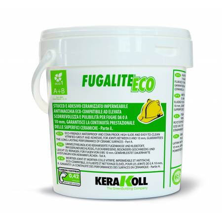 Fugalite Eco Kerakoll 3 kg 0-10: Juntas de Colocación Orgánicas Minerales para Cerámica