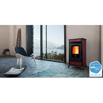 Pellet stove RV 80 with ceramic coating