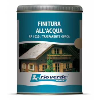 Water-based transparent finish Rio Verde Renner 0,75 l