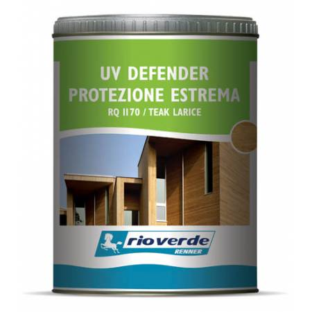 Finitura alta resistenza all'acqua UV Defender Rio Verde Renner 0,75 l