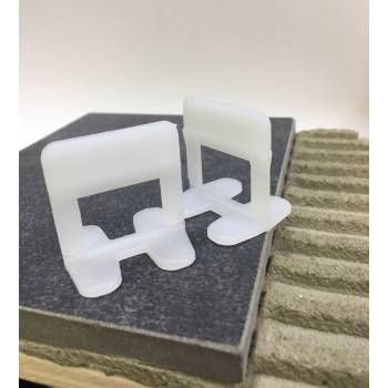 Clips 1,5 mm Tile Leveling Spacers Block Level Evo