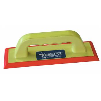 Soft rubber spatula for cementitious grouting Ghelfi