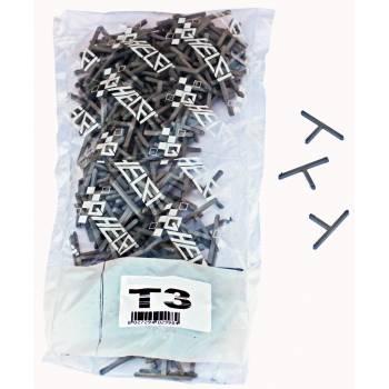 T-förmige 3 mm Abstandhalter Ghelfi