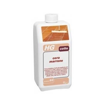 HG cera marrone per cotto 1lt