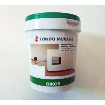 Fondo Murales Oikos white primer for decorative painting