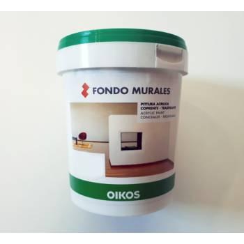 Fondo Murales Oikos bianco per pitture decorative